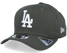 Los Angeles Dodgers Tonal Stretch 9Fifty Olive/White Adjustable - New Era