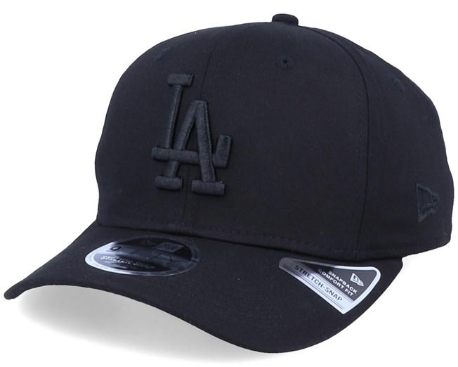 Los Angeles Dodgers Tonal Stretch 9Fifty Black/Black Adjustable - New Era