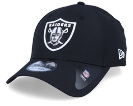 Oakland Raiders Winter Script Black/White Adjustable - New Era
