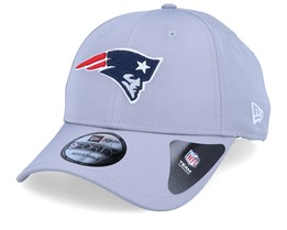 New England Patriots Winter Script Grey Adjustable - New Era