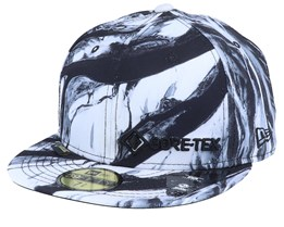 Winterscape GORE-TEX 59Fifty Black/White Fitted - New Era