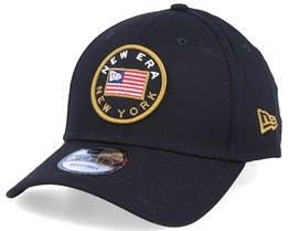 Flagged 9Forty Black Adjustable - New Era