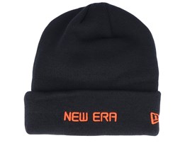 Essential Logo Black/Orange Cuff - New Era