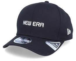 Essential Logo Stretch-Snap 9Fifty Black/White Adjustable - New Era