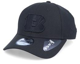 Cincinnati Bengals Mono Team Colour 9Forty Black/Black Adjustable - New Era