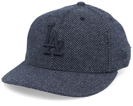 Los Angeles Dodgers Tweed 9Forty Black/Black Strapback - New Era