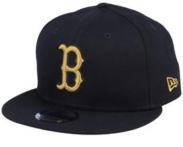 Boston Red Sox League Essential 9Fifty Black/Gold Snapback - New Era