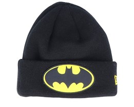 Kids Batman Character Cuff knit Black/Yellow Cuff - New Era