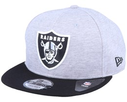 Oakland Raiders 9Fifty Jersey Essential Heather Grey/Black Snapback - New Era