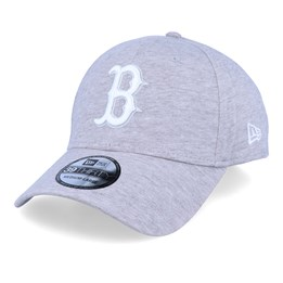 Boston Red Sox Jersey Essential 9Forty Heather GreyWhite