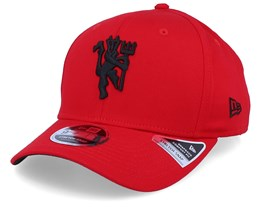 Manchester United Stretch Red/Black Adjustable - New Era