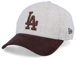 Los Angeles Dodgers 39Thirty Heather Oat/Burn Flexfit - New Era