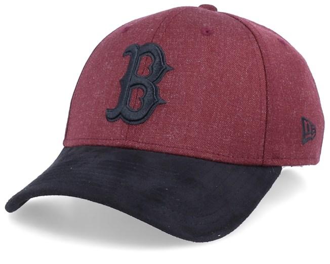 New Era 39Thirty Cap HEATHER Boston Red Sox maroon