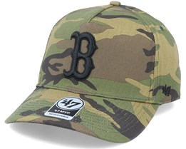 Boston Red Sox Grove Mvp DT Camo/Black Adjustable - 47 Brand