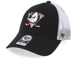 Anaheim Ducks Malvern 47 Mvp Wool Black/White Trucker - 47 Brand