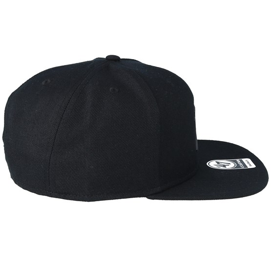f49fe04498a8 New York Yankees 47 Captain Wool Black/Matte Black Snapback - 47 Brand