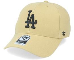Los Angeles Dodgers Mvp Khaki/Black Adjustable - 47 Brand