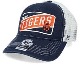 Detroit Tigers Slash Patch Mvp Navy/White Trucker - 47 Brand