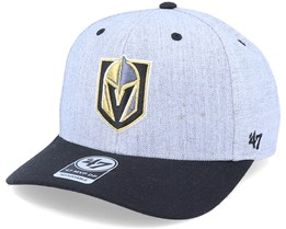 Vegas Golden Knights Storm Cloud Mvp DP Charcoal/Black Adjustable - 47 Brand