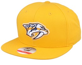 Kids Nashville Predators Solid Yellow Snapback - Outerstuff