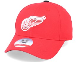 Kids Detroit Red Wings Locker Room Red Adjustable - Outerstuff