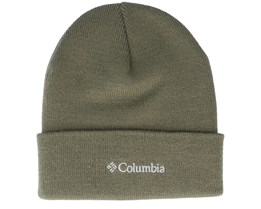 City Trek Heavyweight Beanie Olive Cuff - Columbia