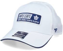 Toronto Maple Leafs Iconic Defender White Trucker - Fanatics