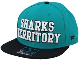 San Jose Sharks Hometown Active Blue/Black Snapback - Fanatics