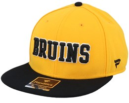 Boston Bruins Hometown Yellow Gold/Black Snapback - Fanatics