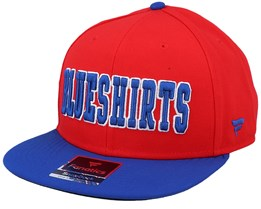 New York Rangers Hometown Athletic Red/Navy Snapback - Fanatics