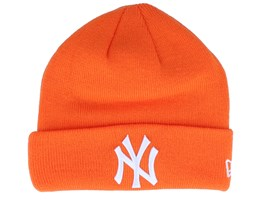 Kids New York Yankees League Essential Orange/White Cuff - New Era