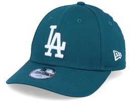 Kids Los Angeles Dodgers League Essential 9Forty Teal/White Adjustable - New Era