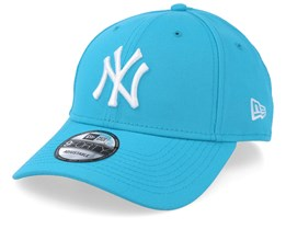 New York Yankees Neon Basic 9Forty Blue/White Adjustable - New Era