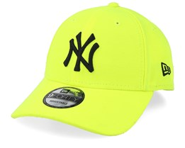 New York Yankees Neon Basic 9Forty Cyber Yellow/Black Adjustable - New Era