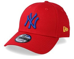 New York Yankees Essential 9Forty Scarlet/Royal Adjustable - New Era