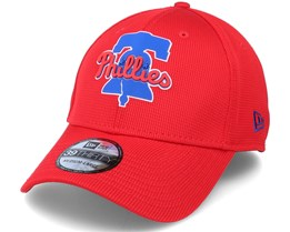 Philadelphia Phillies Of Clubhouse MLB Red 39Thirty Flexfit  - New Era