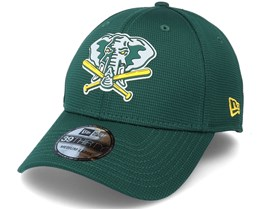 Oakland Athletics Of Clubhouse MLB 39Thirty Green Flexfit - New Era