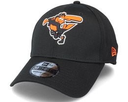 Baltimore Orioles Of Clubhouse MLB 39Thirty Black Flexfit - New Era