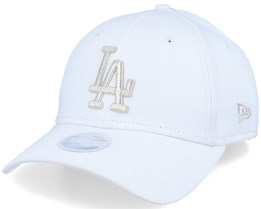 Los Angeles Dodgers Women Metallic 9Forty White/Silver Adjustable - New Era