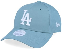 Los Angeles Dodgers Women League Essential 9Forty Teal/White Adjustable - New Era
