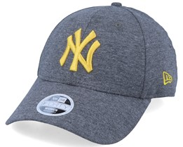 New York Yankees Women Jersey Essential 9Forty Heather Grey/Yellow Adjustable - New Era