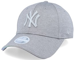 New York Yankees Women Iridescent 9Forty Grey/Silver Adjustable - New Era