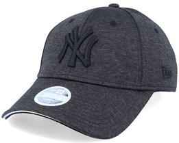 New York Yankees Women Iridescent 9Forty Black/Black Adjustable - New Era