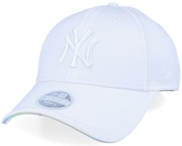 New York Yankees Women Iridescent 9Forty White Adjustable - New Era