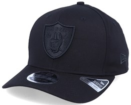 Oakland Raiders Tonal 9Fifty Stretch Snap Black/Black Adjustable - New Era