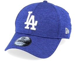 Los Angeles Dodgers Shadow Tech 9Forty Heather Blue/White Adjustable - New Era