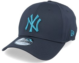 New York Yankees Seasonal Colour 39Thirty Neyyan Navy/Teal - New Era