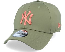 New York Yankees Seasonal Colour 39Thirty November Green/Copper Flexfit - New Era
