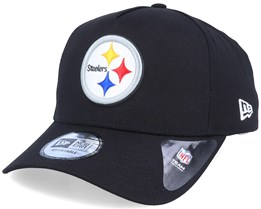 Pittsburgh Steelers A-Frame Black/White Adjustable - New Era