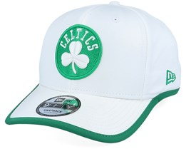 Boston Celtics Piping Detail 9Fifty White/Green Adjustable - New Era